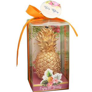 Golden Pineapple Candle