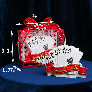 Lucky Poker Candle