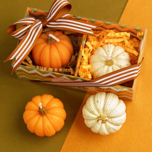 iLikePar Autumn Pumpkin Candles