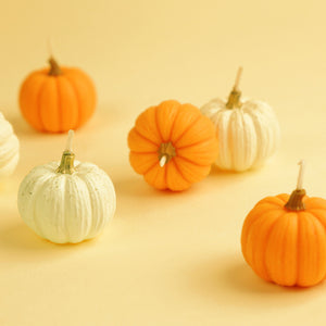 Autumn Pumpkin Candles