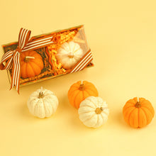 Load image into Gallery viewer, Autumn Pumpkin Candles