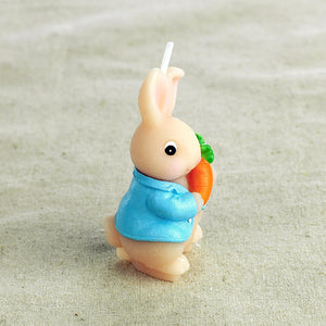Bunny with Carrot Candle