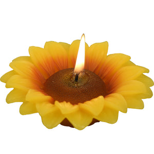Sunflower Candles