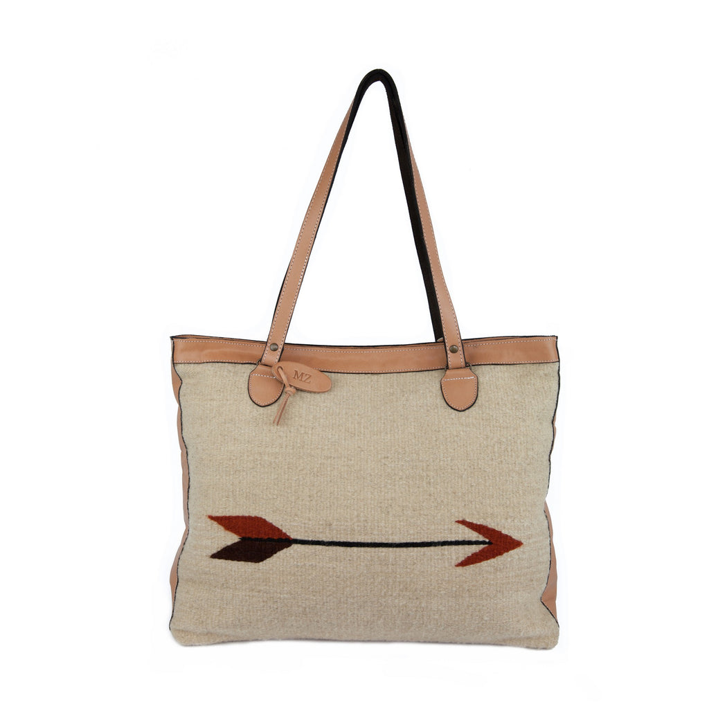 Straight as an Arrow Large Shoulder Bag