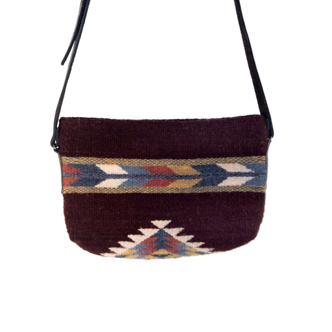 Crimson + Feather Crossbody