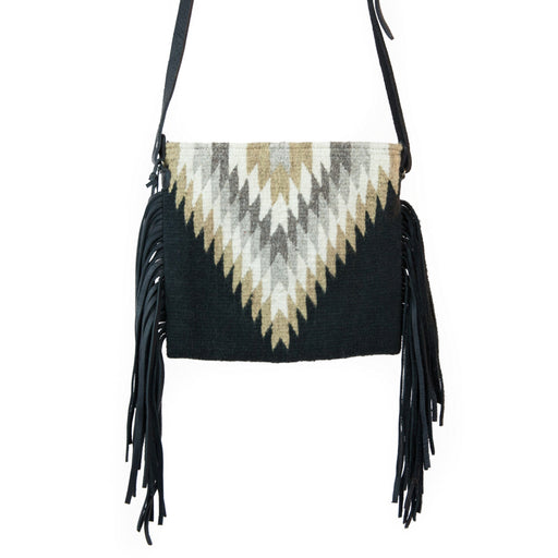 Golden Diamond Fringe Bag