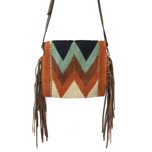 Mountain Chevrons Fringe Bag