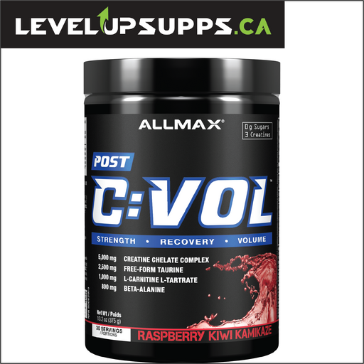 Allmax C-Vol Post Recovery