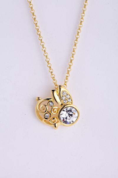 soEnvy Chinese Zodiac Crystal Necklace Collection Rabbit