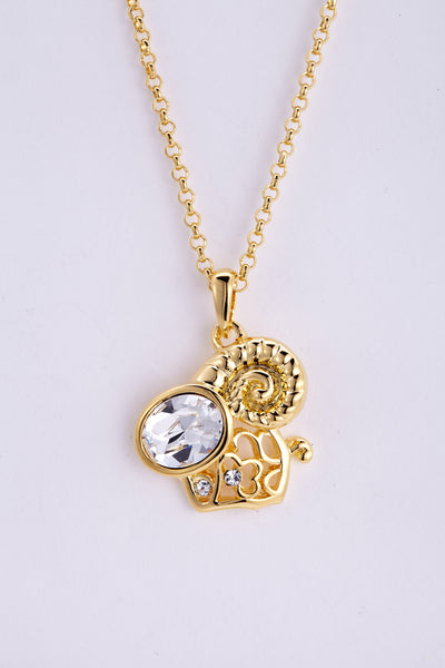 soEnvy Chinese Zodiac Crystal Necklace Collection Ram