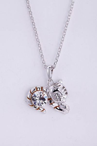 soEnvy Chinese Zodiac Crystal Necklace Collection Tiger