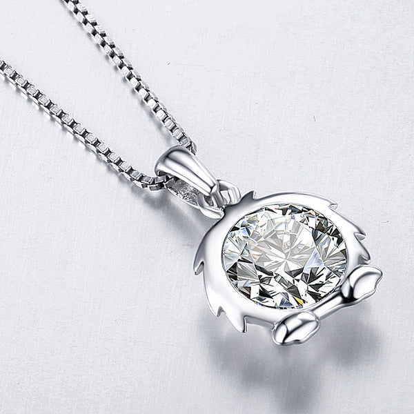 Sterling Silver Zodiac Star Sign Necklace
