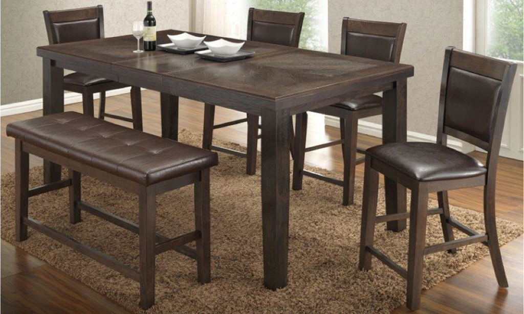 group 111 - All Wood Dining Room Table