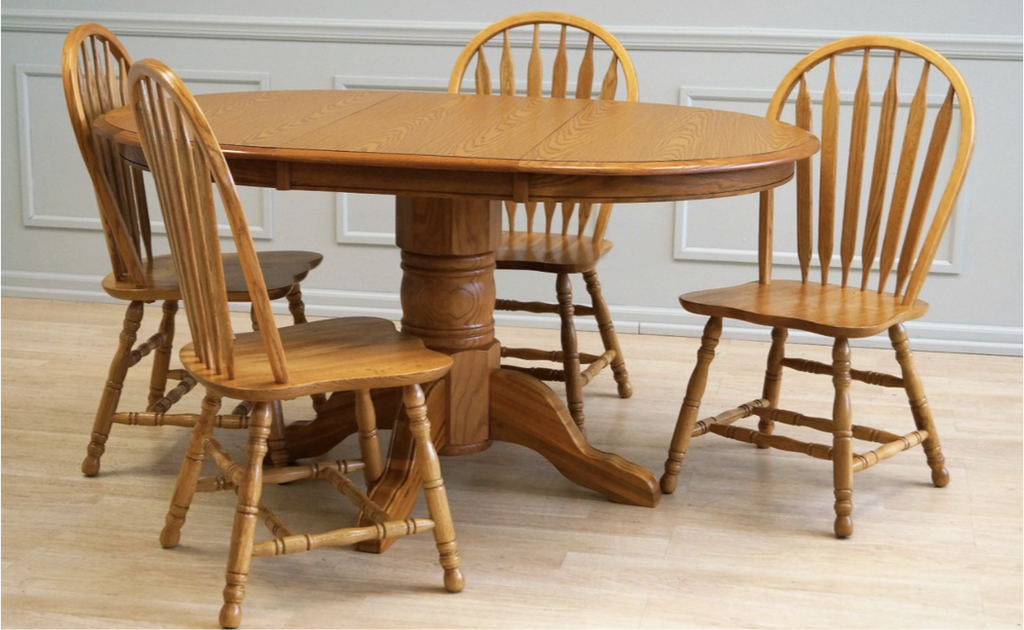 group 92 - All Wood Dining Room Table