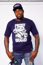Load image into Gallery viewer, Profit Navy Blue Robber Tee