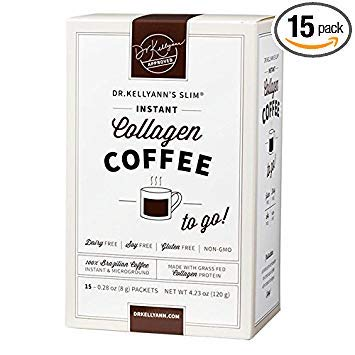Keto Coffee Packets - Instant Brazilian Collagen Coffee(15 Servings, 1 Box)