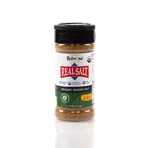 Redmond Real Sea Salt - Organic Gluten Free, Seasoning