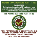 Grass Fed Beef Liver Supplement (180 Capsules) by Peak Performance