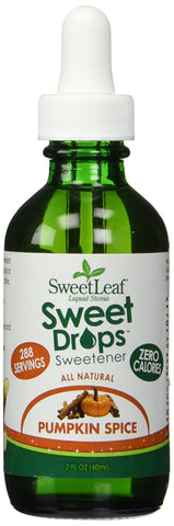 SweetLeaf Sweet Drops Liquid Stevia Sweetener, Pumpkin Spice, 2 Ounce