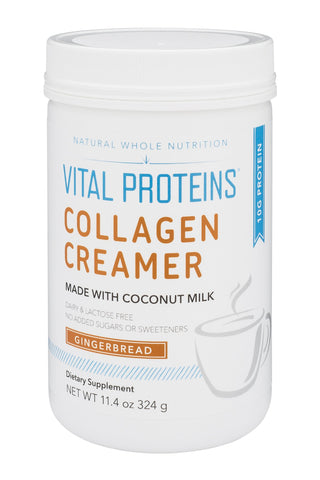 Vital Proteins Collagen Creamer (Gingerbread, 10oz)