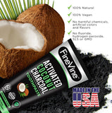 100% Natural Charcoal Teeth Whitening Toothpaste| Charcoal Toothpaste