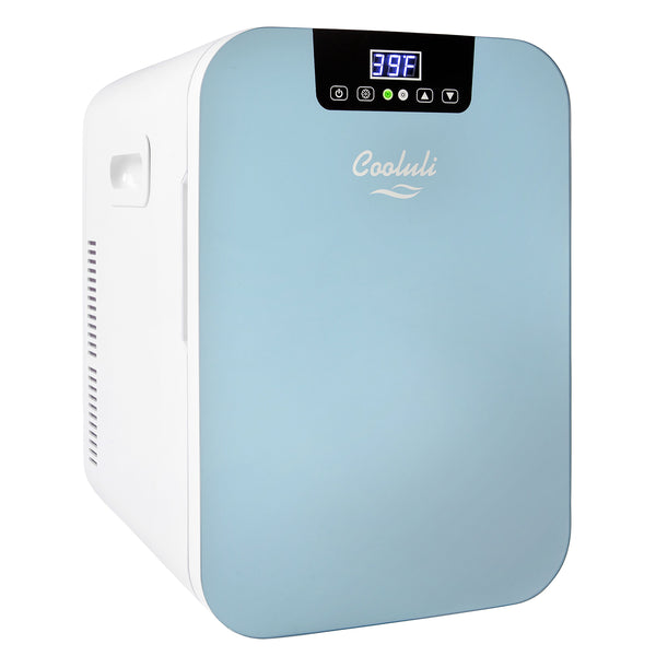 Concord 20 Liter Large Blue Mini Fridge Temperature Control