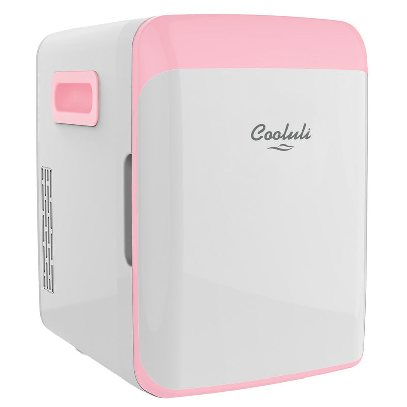 cooluli classic 10 liter pink mini fridge