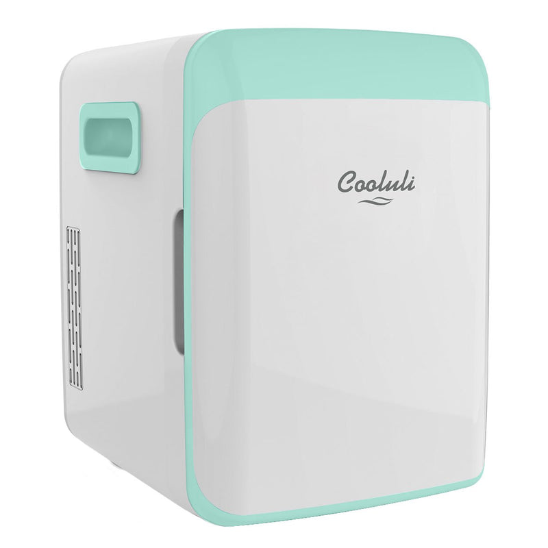 cooluli classic 10 liter teal mini fridge