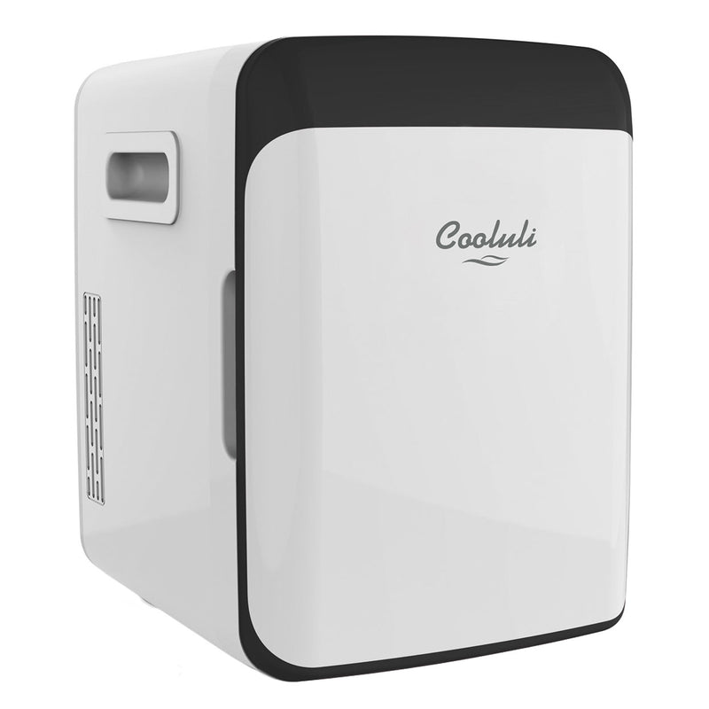 cooluli classic 10 liter white mini fridge