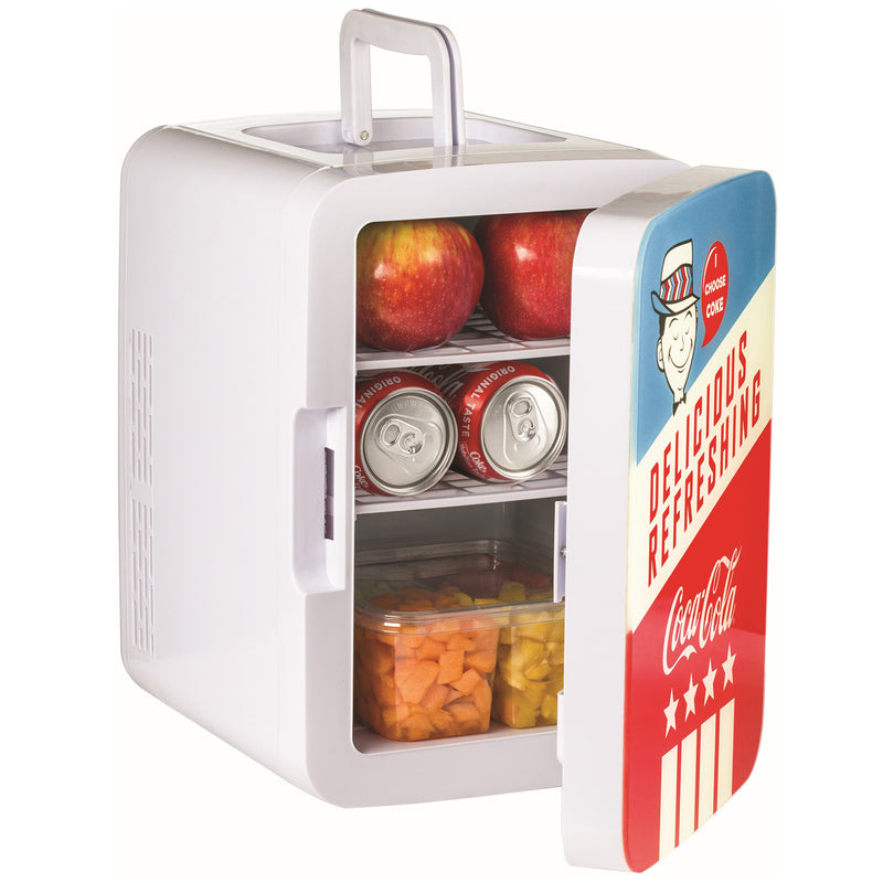 Coca-Cola Americana 10 Liter Retro Mini Fridge for Food