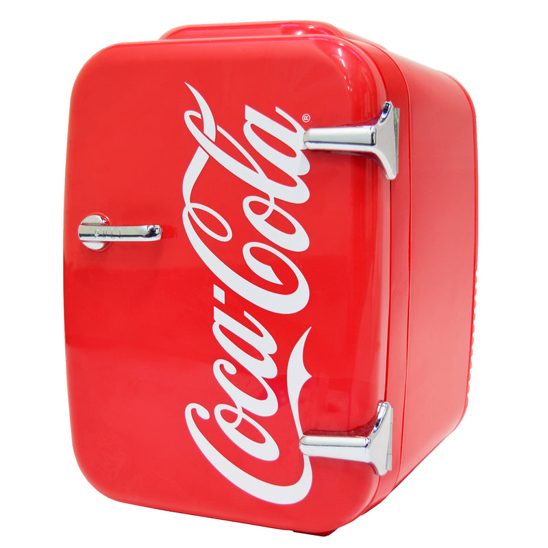 Coca-Cola Vintage Chic 4 Liter Red Mini Fridge