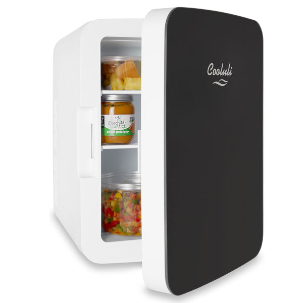 Infinity 10 Liter Portable Black Mini Fridge Door