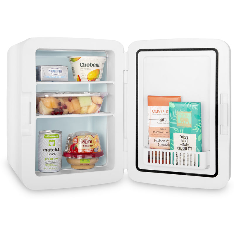 Infinity 10 Liter Portable White Mini Fridge for Food
