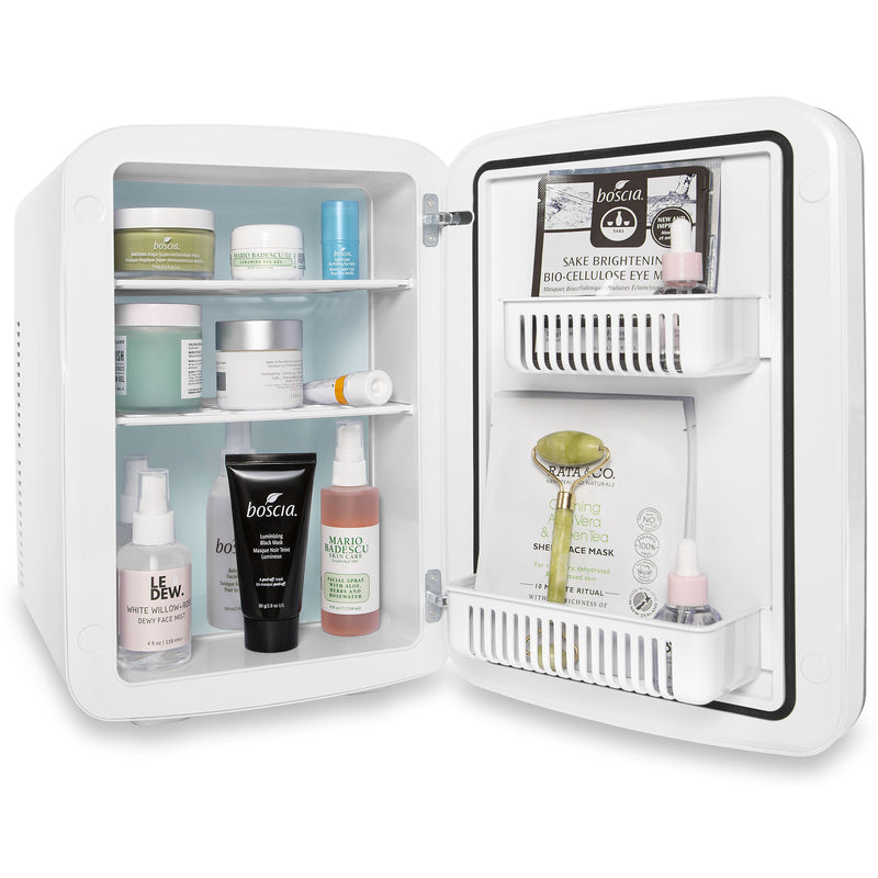 Infinity 15 Liter White Big Skincare Mini Fridge