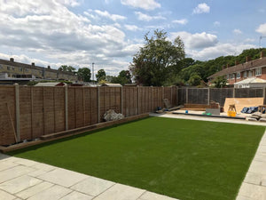 Artificial Grass Installation Garden