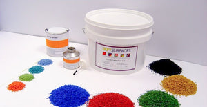 Wet Pour Rubber Repair Kits - 4 and 5 Kilo