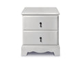 Stk Bella Bedside Table Grey
