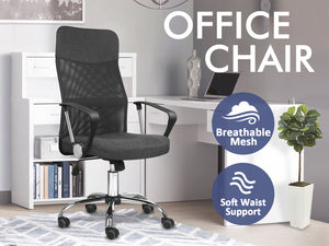 TSB Living TSB Living Default Meshmallow office chair MESH SA-4006 Grey