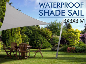 TSB Living TSB Living Default SHADE SAIL WATERPROOF 3X3X3 GREY