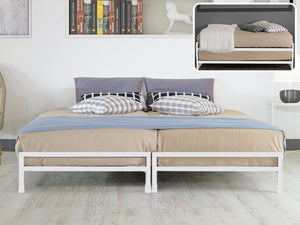 TSB Living TSB Living Default STACKER METAL BEDS WHITE