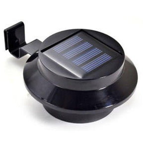 TSB Living Solar Default SOLAR GUTTER LIGHT BLACK X1
