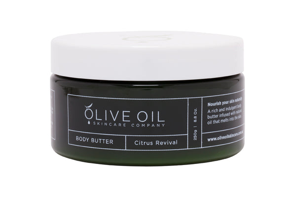 Body Butter, Olive Oil based ,Citrus Revival 250g