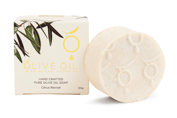 Extra Virgin Olive Oil Soap Citrus Revival 100g