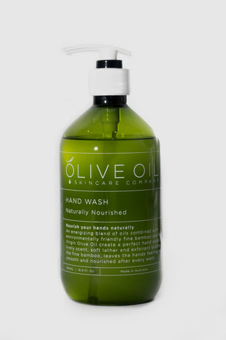 Hand Wash, Castile Style, Naturally Nourished 500ml