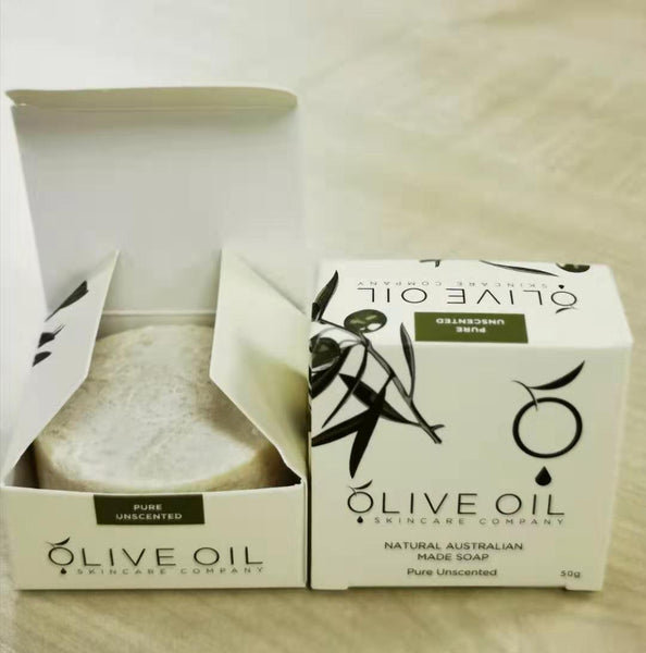 Extra Virgin Olive Oil Soap - Pure 50g