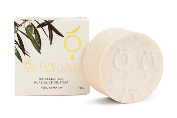 Extra Virgin Olive Oil Soap Manuka Honey 100g
