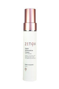 Zetox Night Restorative Cream 60ml