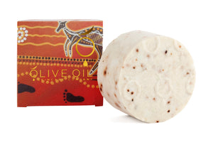 Olive Oil Soap ,Aboriginal Series, Quandong Soap 100g