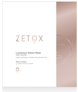 Zetox Luminous Sheet Mask 4 piece box set