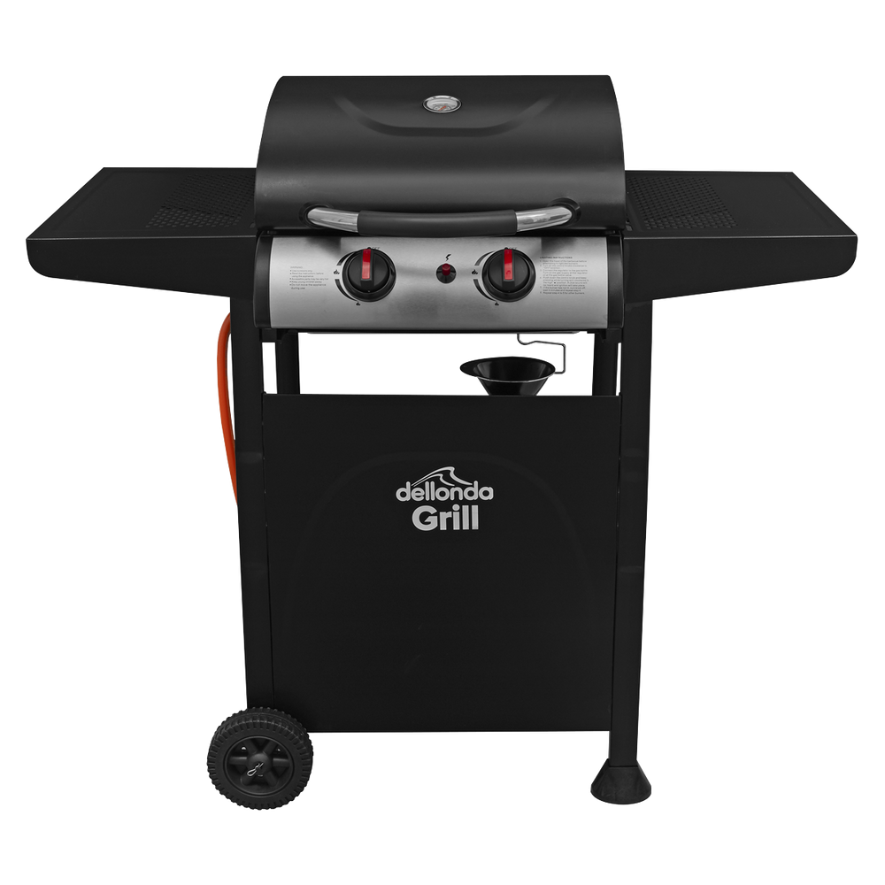 DG13.AR - 2 Burner Gas BBQ Barbecue with Piezo Ignition | Refurbished Grade A |